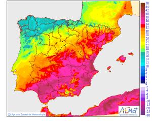 Iberia Temps